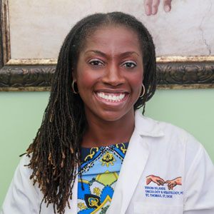 Dr. Erole McLean Hobdy of Virgin Islands Oncology and Hematology